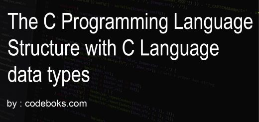 The C Programming Language Structure with C Language data types